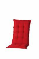 madison Tuinkussen hoge rug Basic Red