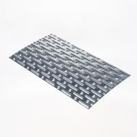 Gb Spijkerplaat 150X256X1.25mm 115x2 Sendzimir verzinkt - per stuk