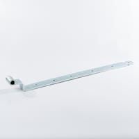 Gb Bocht heng 650mm voor pen met diameter: 16mm 45X6 Verzinkt - per stuk