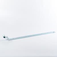 Gb Bocht heng 750mm voor pen met diameter: 16mm 45X6 Verzinkt - per stuk