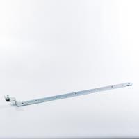Gb Bocht heng 850mm voor pen met diameter: 16mm 45X6 Verzinkt - per stuk