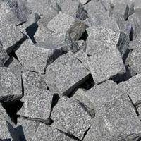 Kinderkopjes kasseien antraciet/zwart 1000kg / 5,5m2