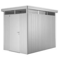 tuinhuis HighLine H2 staal zilver metallic 4,33m²