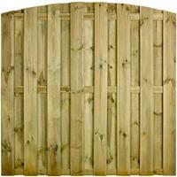 Praxis Tuinscherm Cardiff grenen getoogd 180x180cm