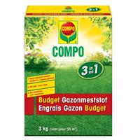 Compo budget gazonmeststof 3-in-1 3kg