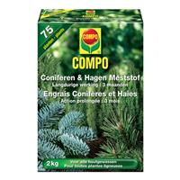 Compo meststof coniferen en hagen 2kg