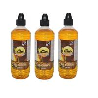 3x Citronella lampenolie 750 ml + aansteker Multi