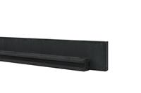 Woodvision Beton tussenpaal met sponning Antraciet 10x10x270