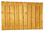 Woodvision Grenen plankenscherm 21-planks 180 x 130 cm