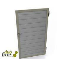 Composiet poort/deur 180cm Tropical Brown