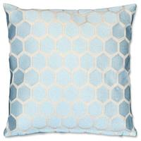 Unique Living Bee kussen 45x45cm starlight blue