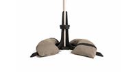 parasolvoet 50 kg - taupe