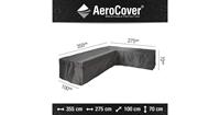 AeroCover loungesethoes 355x275x100xH70 R - antraciet