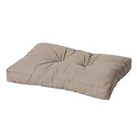 Madison kussens Loungekussen ruggedeelte 70x40cm Basic taupe