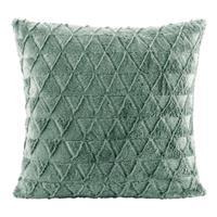 Leen Bakker Sierkussen Nynke - groen - 45x45 cm