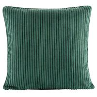 Leen Bakker Sierkussen Supercord - groen - 45x45 cm