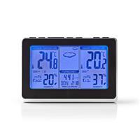 Nedis WEST400BK Weerstation Draadloze Sensor Alarmklok...