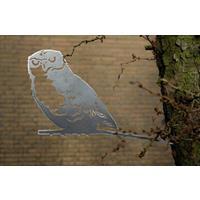 Artbizniz Metalen vogel Uil