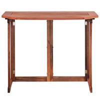 Balkontafel 90x50x75 cm massief acaciahout