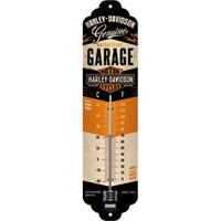 Nostalgic Art Thermometer Harley Davidson Garage