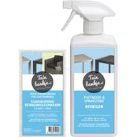tuinbankje.nl Reinigingsset polywood en spraystone