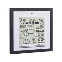 TFA Linea Plus 35.1144.01 Digitaal draadloos weerstation Voorspelling voor 12 tot 24 uur