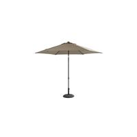 4 Seasons Outdoor Parasol Oasis Ø250 cm taupe