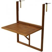 express Balkontafel inklapbaar 45 x 64 cm hout