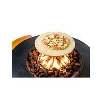 happy cocooning tafel pizzasteen 40x40xH4,5 cm
