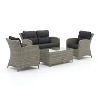Intenso Furniture Intenso Leone/Milano stoel-bank loungeset 4-delig