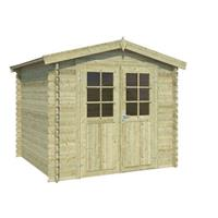OLP Outdoor Life Products Tuinhuis Ingo 175 Groen gedompeld