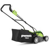 Greenworks Grasmaaier met 2x40 V 2 Ah accu G40LM35 2501907UC