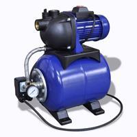 VidaXL Elektrische tuinpomp 1200W blauw