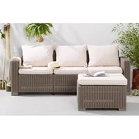 Allibert loungebank California (met hocker)
