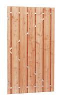 CarpGarant Douglas poort Universeel op stalen frame fijnbezaagd 100 x 190cm