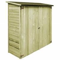 VidaXL Tuinschuur 192x76x175 cm FSC geïmpregneerd grenenhout