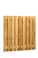 Woodvision Grenen plankenscherm 19-planks 180 x 180 cm