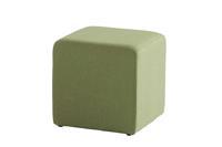 Taste by 4 Seasons Taste 4SO Crea poef upholstery 43x43xH43 cm - groen