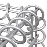 VidaXL Schanskorf 150x50x100 cm staal