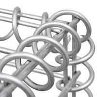 VidaXL Schanskorf 200x50x100 cm staal