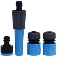 Pro Garden Tuinsproeier koppel/verbindingsset 4-delig Multi