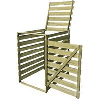 VidaXL Containerberging enkel 240 L FSC geïmpregneerd hout