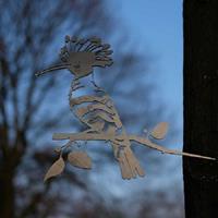 Artbizniz Metalen vogel Hop