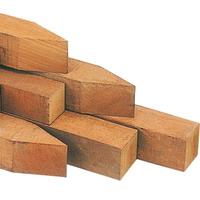 Intergard Hardhouten palen tuinpalen 8x8x275cm