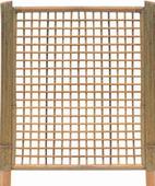 Intergard Tuinscherm bamboescherm trellis 180x180cm