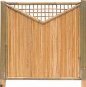 Intergard Tuinscherm bamboescherm Shanghai 180x180cm