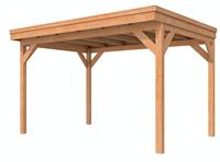 Woodvision Overkapping Fijnbezaagd 400 x 300 cm C3