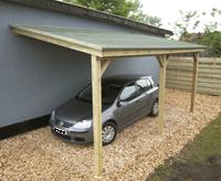 Gardenas Carport aanbouw 300x500 cm