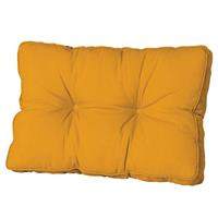 Madison kussens Loungekussen ruggedeelte 70x40cm Panama golden glow