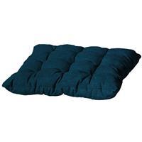 Madison kussens Zitkussen Toscane 46x46cm Outdoor Velvet/panama safier blue